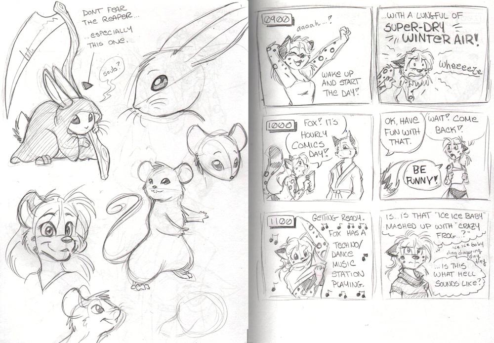 Sketchbook Intermission 3