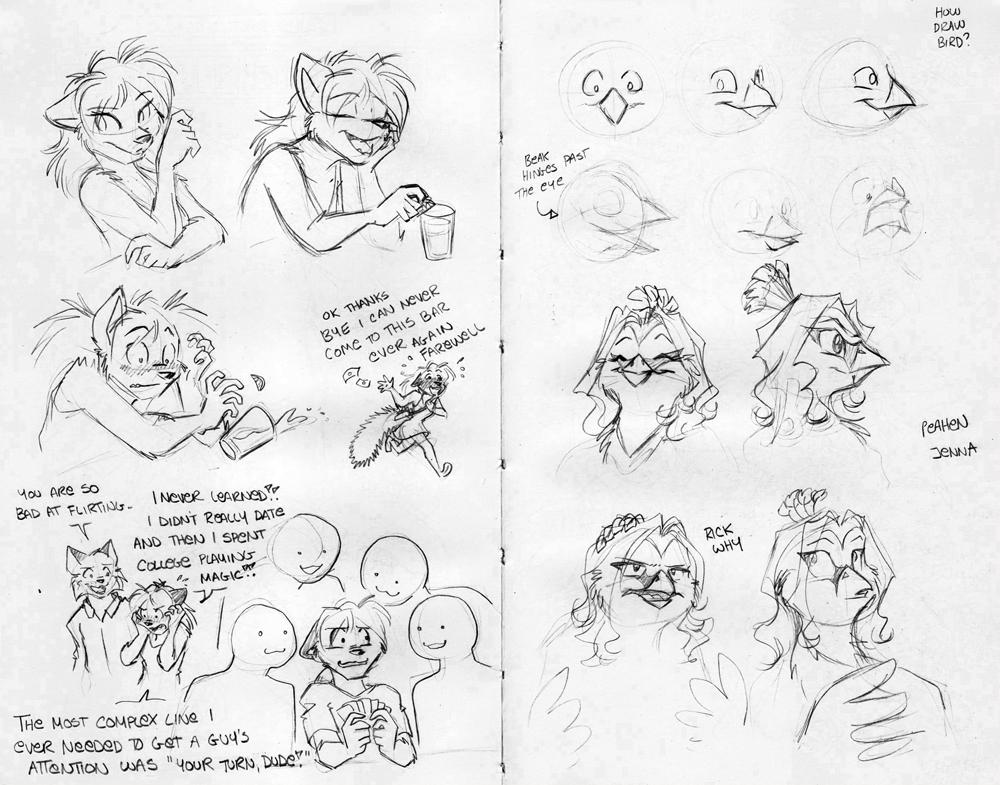 Sketchbook Intermission 6