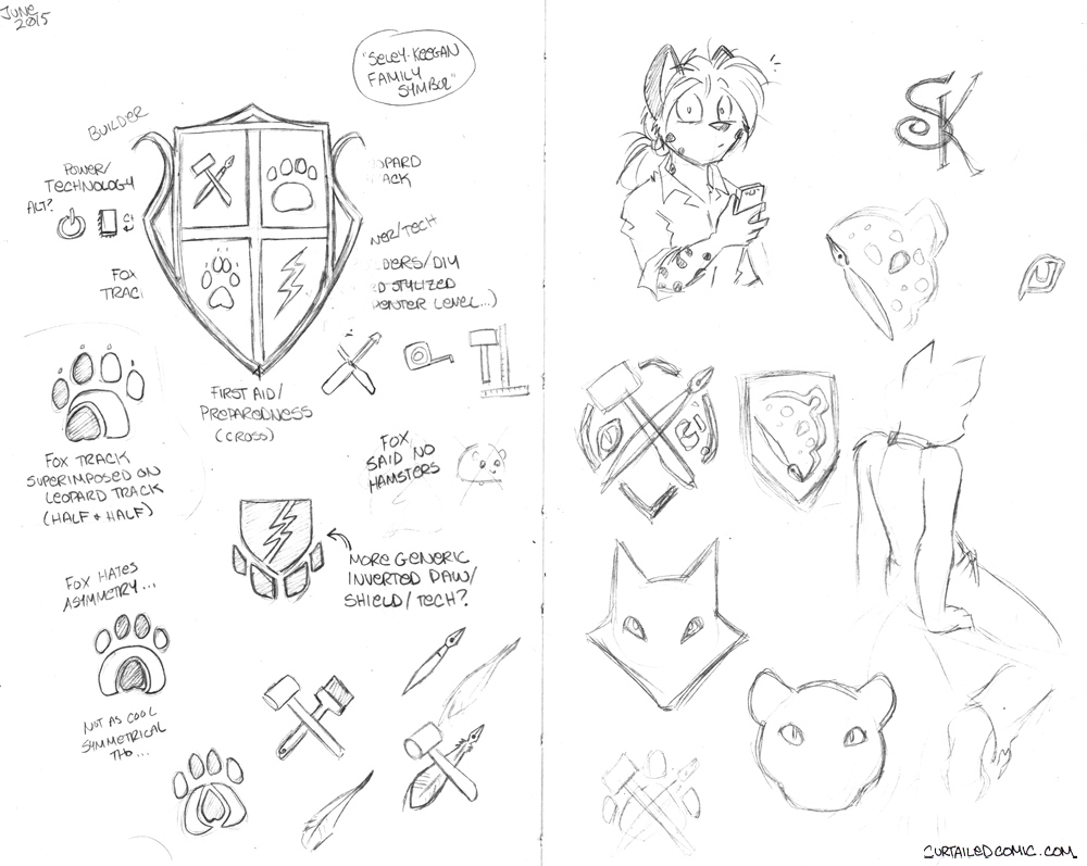 Sketchbook Intermission 7