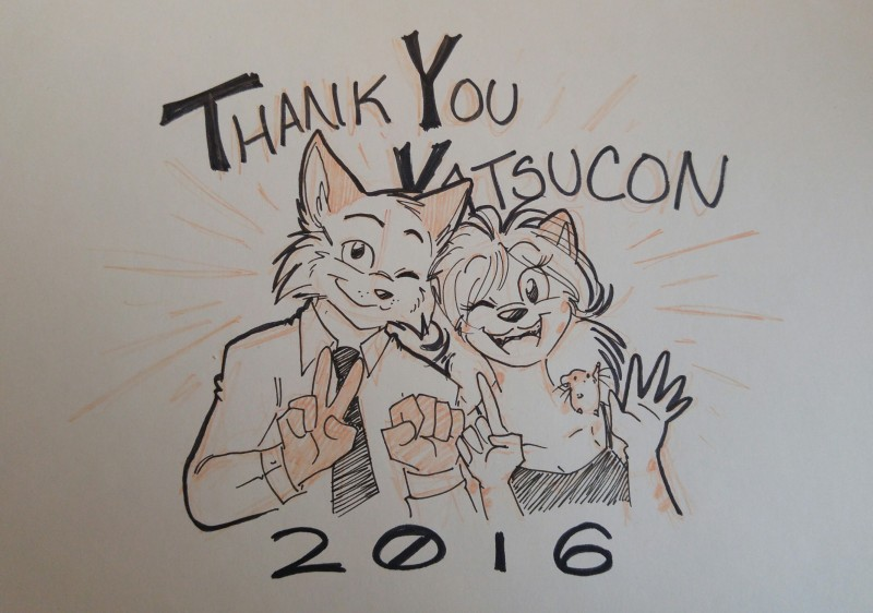 Thank you Katsucon!