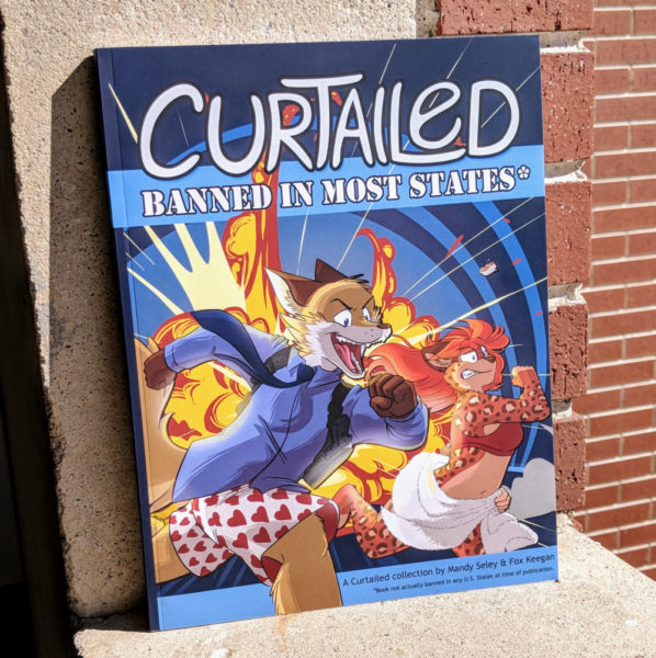 Photo of the book: Curtailed: Banned in Most States